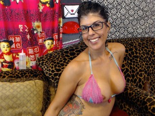 Webcam en direct de Izzy_Licious