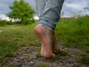 Barefeet walking!